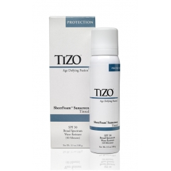 TIZO SheerFoam Sunscreen Tinted 100 gr