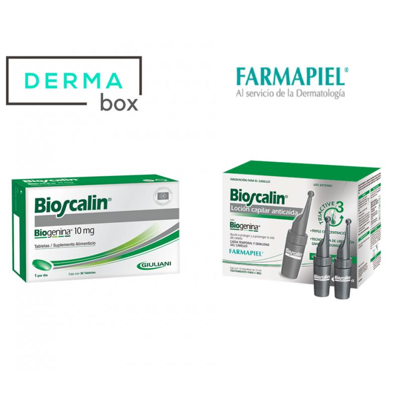Farmapiel Bioscalin Paquete Ampolletas/Tabletas