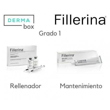 DermaBox Fillerina Antiedad Grado 1
