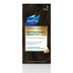 Phyto Phytocolor Sensitive No 4 Brown