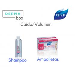 DermaBox Phyto Phytocyane 12 Ampolletas+ 1 Shampoo