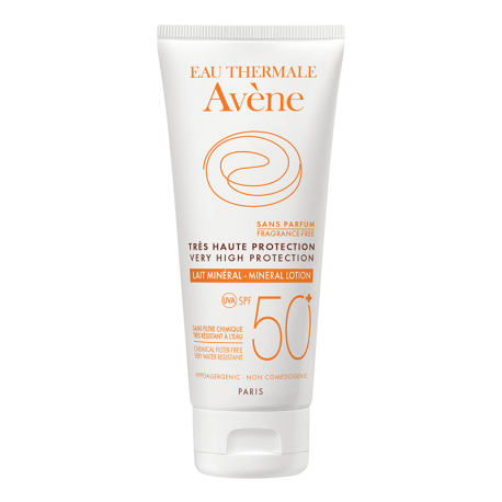 Avène Leche Mineral FPS50+ 100 ml
