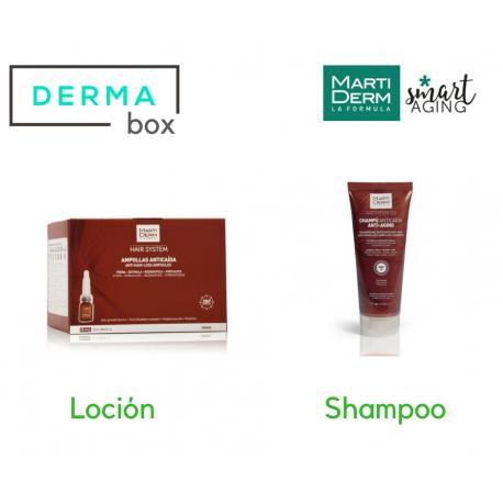 DermaBox Martiderm Anticaída Hair System