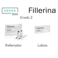 DermaBox Fillerina Antiedad/Labios Grado 2