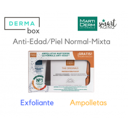 MARTIDERM DermaBox Kit Proteoglicanos FPS 30 Ampollas + Exfoliante 50 ml