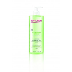 Topicrem Gel Limpiador Purificante 400 ml