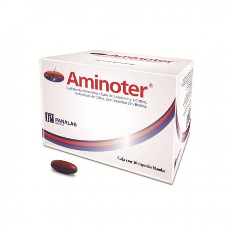 Panalab Aminoter 30 cápsulas