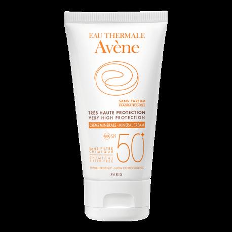 Avène Crema Mineral FPS50+ 50 ml