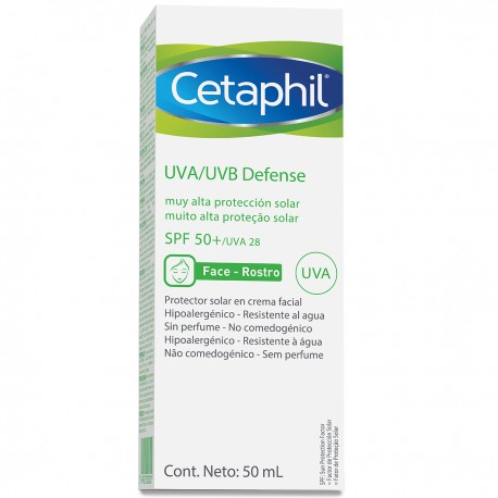 Cetaphil UVA/UVB DEFENSE FPS50+ 50 ml