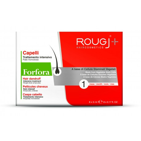 Rougj Tratamiento Anti-Caspa 1 Mes 8x5 ml
