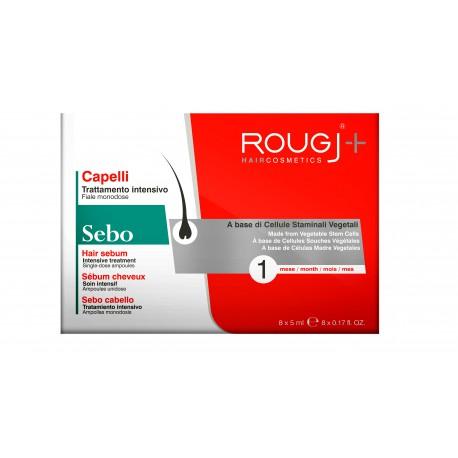 Rougj Tratamiento Anti-Sebo 1 Mes 8x5 ml