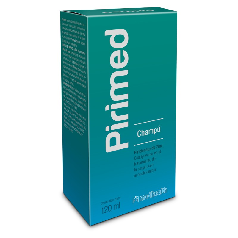 Medihealth Pirimed Shampoo 120 ml