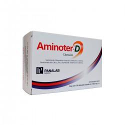 Panalab Aminoter D 30 cápsulas