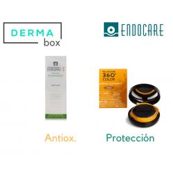 DermaBox Endocare-Heliocare Antiox Compacto