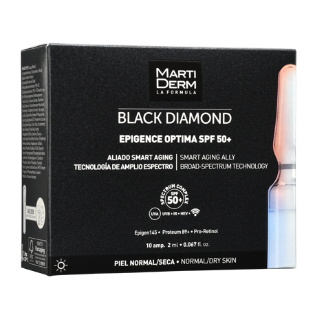 MARTIDERM Black Diamond EPIGENCE OPTIMA FPS50+ 10 Ampolletas