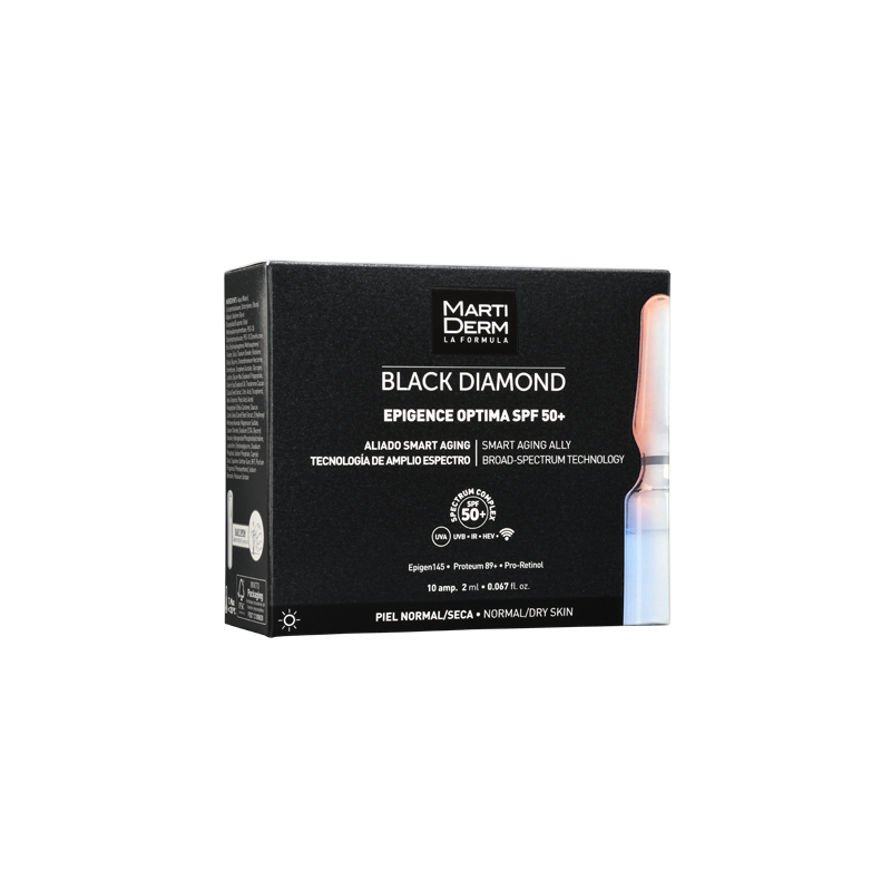 MARTIDERM Black Diamond EPIGENCE OPTIMA FPS50+ 10 Ampolletas