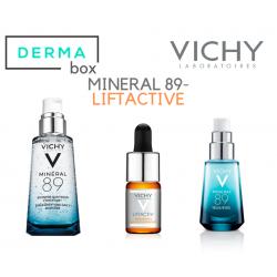 DermaBox Vichy Hidratación Antiedad Mineral 89 50 ml Idéalia Sérum 30 ml