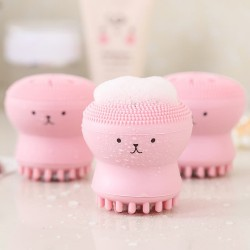 Cepillo de Limpieza Facial Pulpo