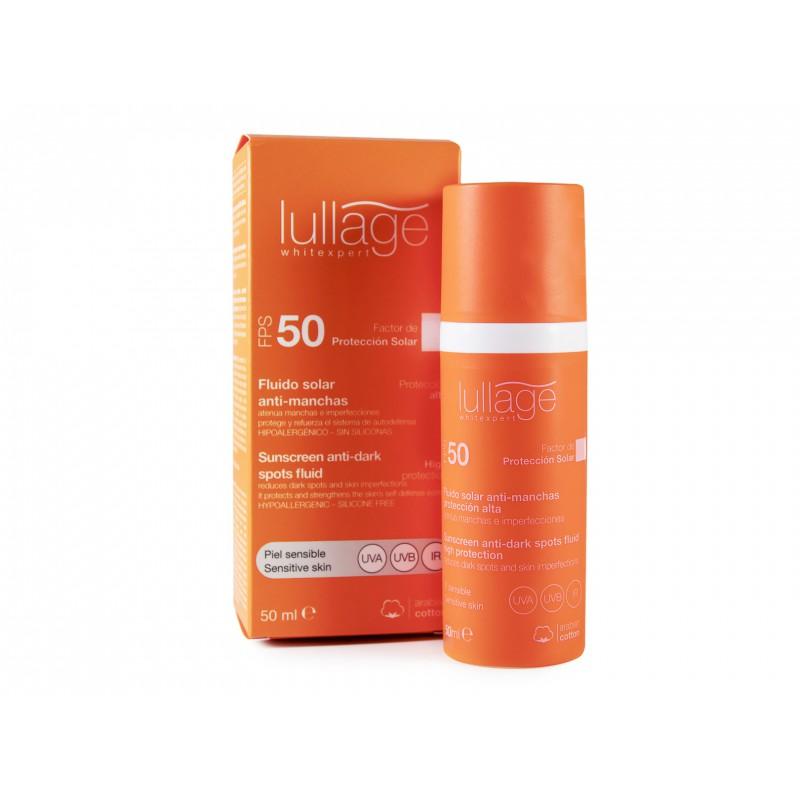 Lullage WhiteXpert Fluido  Solar Piel Sensible FPS50+ 50 ml
