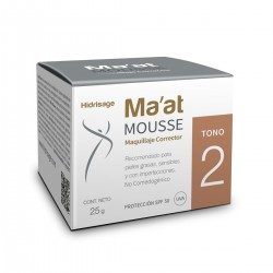 Hidrisage Ma'at Mousse Tono 2 con 25 gr