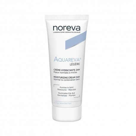 Noreva Aquareva Crema Hidratante Facial De Día Textura Ligera 40 ml