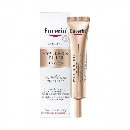 Eucerin Hyaluron Filler + Elasticity Contorno De Ojos 15 ml