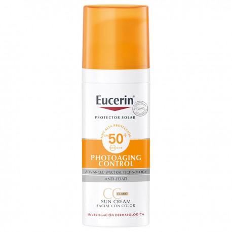 Eucerin Sun CC Creme Tono Claro FPS 50+ 50 ml