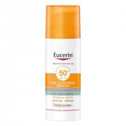 Eucerin Sun Gel-Cream Oil Control Dry Touch Tono Medio FPS50+ 50 ml